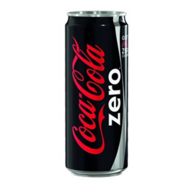 CocaCola Zero lattina 33cl.